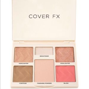 New cover fx face palette